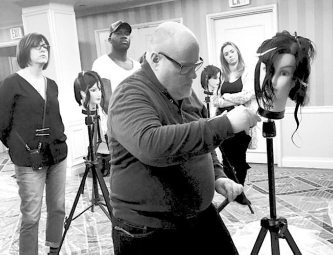 Hauns Korpela teaching a Scott J cutting class