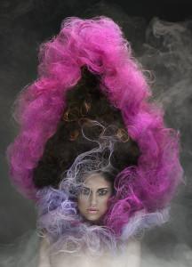 Victorian avant-garde hair look