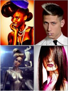 creative hair show competition shots