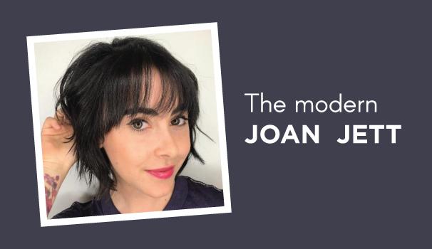 Short Hair With Bangs The Modern Joan Jett Scott J Aveda Salons
